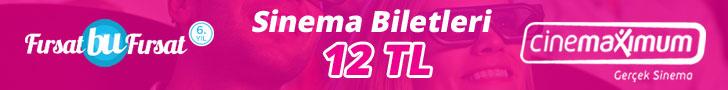 Sinema Biletleri 9.5 TL'den Başlayan Fiyatlarla!