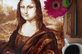 Kahveyle Mona Lisa'yı Çizmek