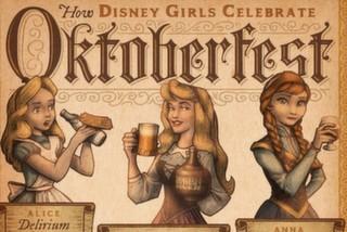 Oktoberfest'te Disney Kızları