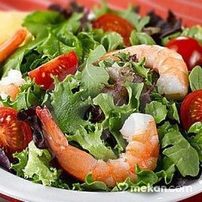 Karidesli Salata