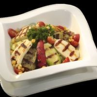 Hellim Peynirli Izgara Sebze Salatası