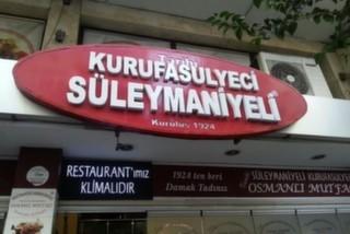 Tarihi Kurufasülyeci Süleymaniyeli