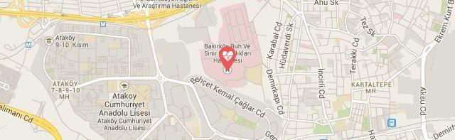 Bakırköy Ruh ve Sinir Hastanesi Hastanesi