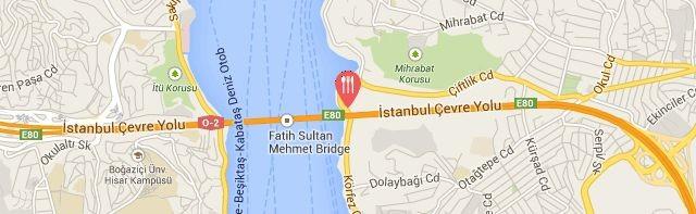 Lacivert Restaurant, Anadolu Hisarı