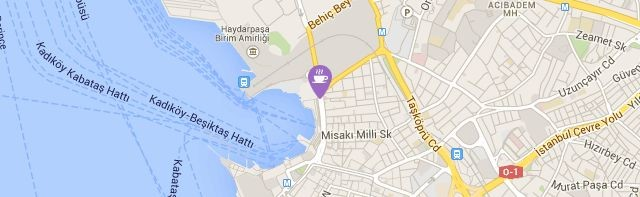 Kadıköy Saray Muhallebicisi, Rıhtım