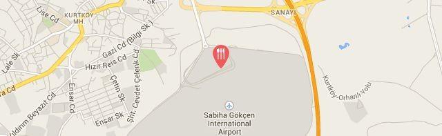 Karafırın, Sabiha Gökçen Uluslararası Havalimanı