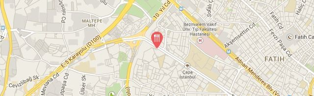 Naar Restoran, Holiday Inn Istanbul City