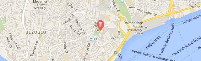Fiamma Restaurant, Gezi Hotel Bosphorus