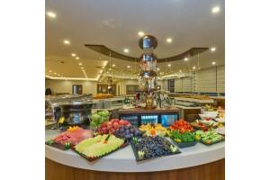 Bekdaş Hotel'de 100 Çeşit Taptaze Açık Büfe Kahvaltı veya Serpme Kahvaltı