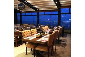 Konak Pasaport Pier Hotel'de Deniz Manzarası Eşliğinde Akşam Yemeği