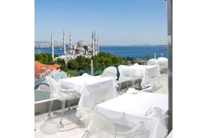 Fine Dine İstanbul'da Manzaralı Serpme Kahvaltı Menüsü