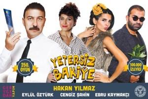 2 Perdeli Komedi Oyunu Yetersiz Bakiye'ye Tiyatro Bileti