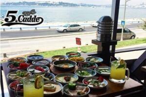Üsküdar Cafe 5. Cadde'den Serpme Kahvaltı