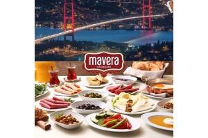 Çamlıca Mavera Cafe Restaurant Serpme veya Açık Büfe Kahvaltı