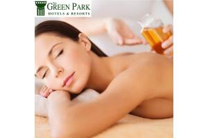 Green Park Hotel Bostancı'da Islak Alan Kullanımı Dahil Masajlar