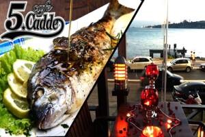 Üsküdar Cafe 5. Cadde'de Deniz Manzarasına Nazır Enfes Yemek Menüleri