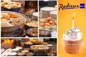 Radisson Blu Hotel İstanbul Asia'dan Brunch Eşliğinde Doğum Günü