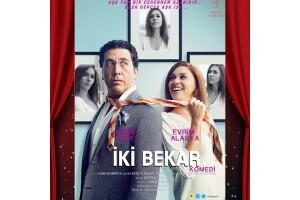 Emre Kınay & Evrim Alasya'nın Oynadığı 'İki Bekar' Tiyatro Oyun Bileti