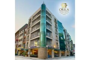 Sirkeci Orka Royal Otel'de Çift Kişilik Kahvaltı Dahil Konaklama