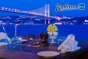 Ortaköy Radisson Blu Bosphorus Hotel'de Akşam Yemeği