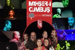 Eğlence Dolu Mahşer-i Cümbüş 'Beyin Fırtınası' Oyununa Tiyatro Bileti