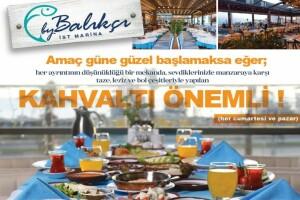 İstmarina AVM By Balıkçı'dan Tadı Damağınızda Kalacak Kahvaltı Menüsü
