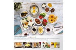 Alaçatı Muhallebicisi Pendik Marina'da Hafta İçi Serpme Kahvaltı Keyfi
