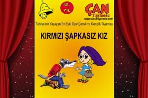 'Kırmızı Şapkasız Kız' Çocuk Tiyatro Oyunu Bileti