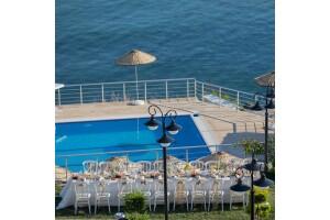 Selimpaşa Konağı Hotel'den Deniz Manzaralı Açık Büfe Kahvaltı Keyfi