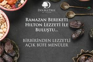 DoubleTree By Hilton İstanbul Avcılar'da Zengin Açık Büfe ile İftar