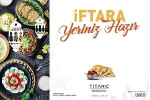 Titanic Business Kartal Ramazan Boyunca Geçerli Açık Büfe İftar Menüsü