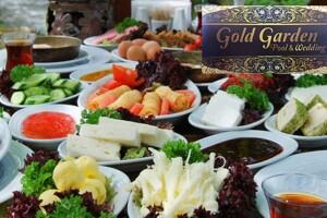 Gölbaşı Gold & Garden'da Hafta Sonu Açık Büfe Kahvaltı