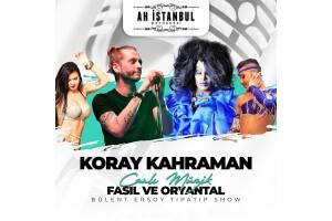 Ah istanbul Meyhanesi Teras'ta Fasıl ve Yerli İçecek Eşliğinde Menüler