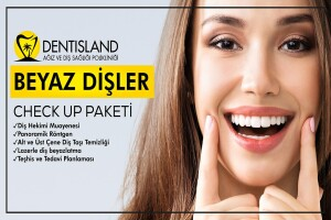Dentisland'dan Diş Beyazlatma Check Up Paketi