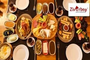 Ziverbey Restaurant'tan Lezzet Dolu Serpme Kahvaltı