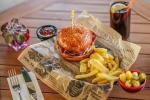 Cvk Hotel Taksim Ashiya Restorant'ta Tadına Doyulmaz Hamburger Menüler