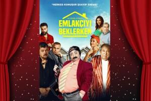 Yasemin Yalçın ve İlyas İlbey'den 'Emlakçıyı Beklerken' Tiyatro Bileti