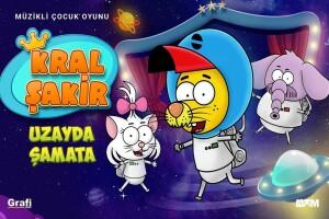 'Kral Şakir - Uzayda Şamata' Çocuk Tiyatro Bileti